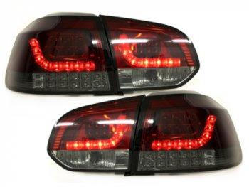 Задние фонари Full LED Red Smoke на Volkswagen Golf VI