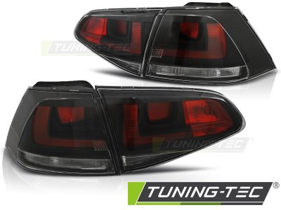 Задние фонари GTI Look от Tuning-Tec Black на Volkswagen Golf VII