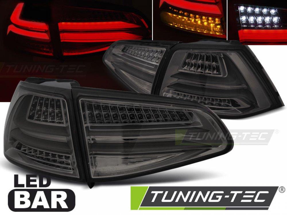 Задние фонари F-Look Full LED Smoke на Volkswagen Golf VII