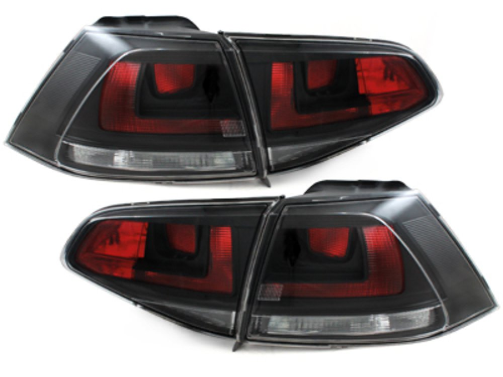 Задние фонари GTI Look Black на Volkswagen Golf VII