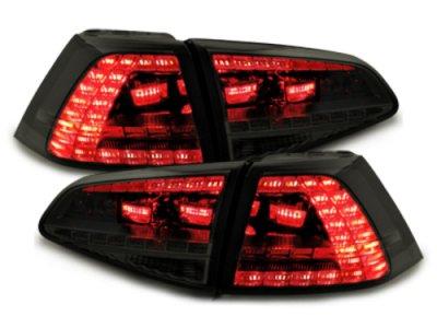 Задние фонари GTI Look LED Black на Volkswagen Golf VII