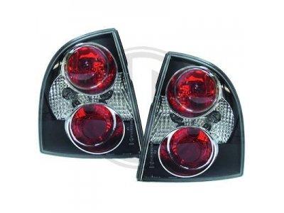 Задние фонари Black на Volkswagen Passat B5+ 3BG