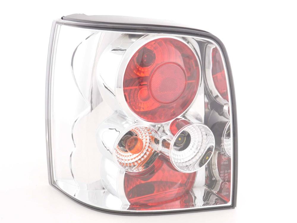 Задние фонари Chrome на Volkswagen Passat B5+ 3BG Variant