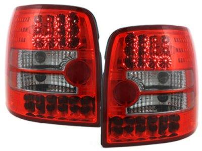 Задние фонари LED Red Crystal на VW Passat B5 3B Variant