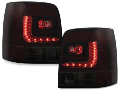 Задние фонари LED Red Smoke на VW Passat B5 3B Variant