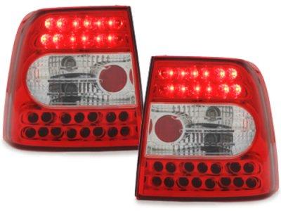 Задние фонари LED Red Crystal на VW Passat B5 3B Limousine