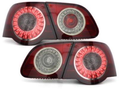 Задние фонари LED Red Smoke на Volkswagen Passat B6 3C