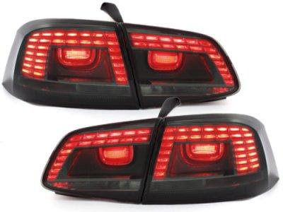Задние фонари LED Smoke на Volkswagen Passat B7