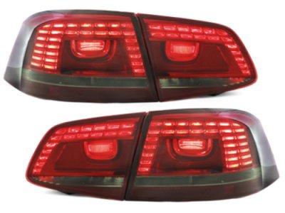 Задние фонари LED Red Smoke на Volkswagen Passat B7 Variant