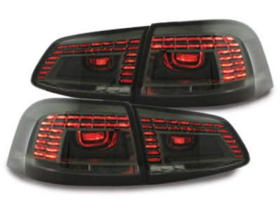 Задние фонари LED Smoke на Volkswagen Passat B7 Variant