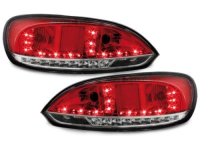 Задние фонари LED Red Crystal Var2 на Volkswagen Scirocco III