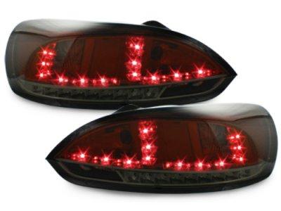Задние фонари LED Red Smoke Var2 на Volkswagen Scirocco III