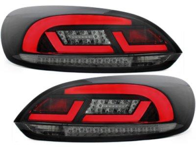 Задние фонари Litec LED Black Smoke на Volkswagen Scirocco III
