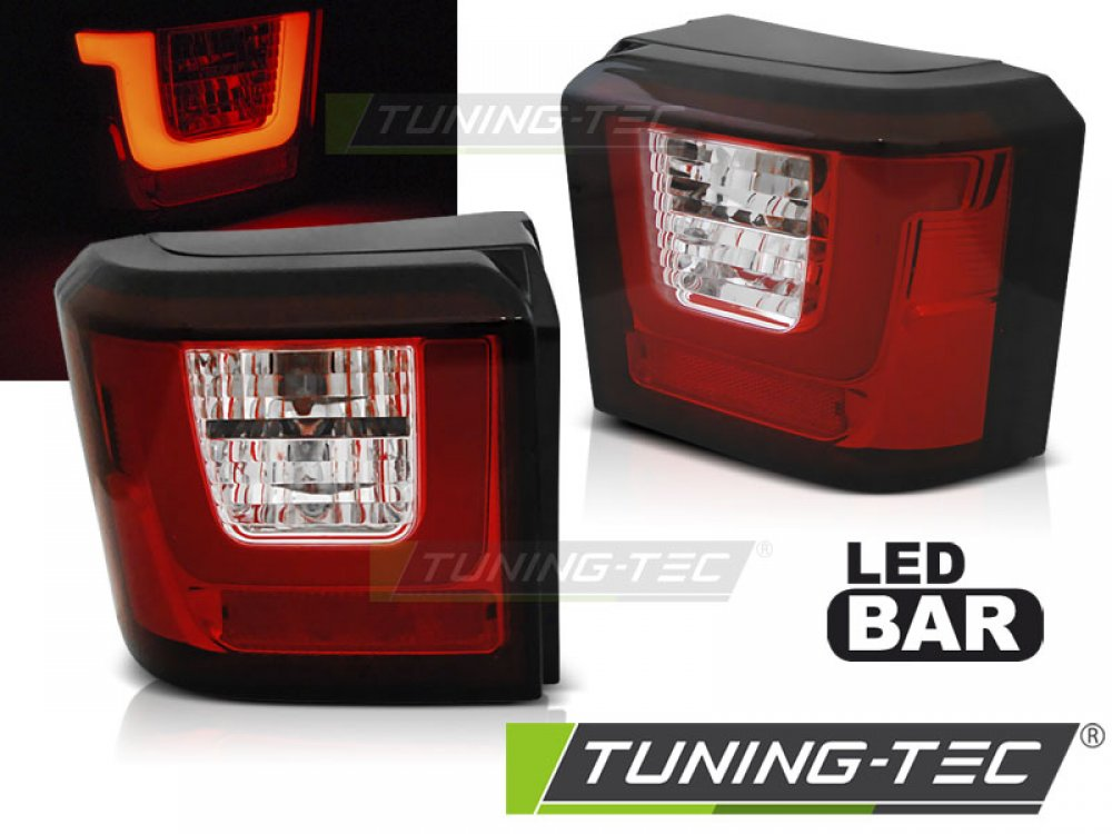 Задние фонари LEDBar Red Crystal от Tuning-Tec на Volkswagen T4