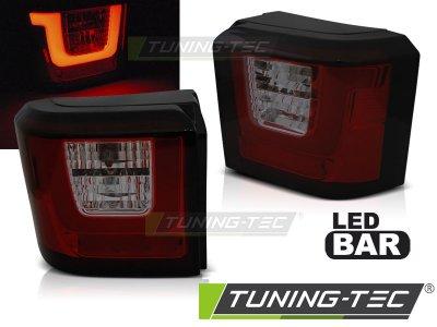 Задние фонари LEDBar Red Smoke от Tuning-Tec на Volkswagen T4