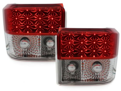 Задние фонари LED Red Crystal на Volkswagen T4