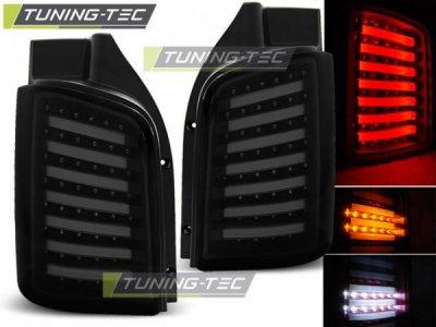 Задние фонари NeonTube Black Smoke на VW Transporter T5