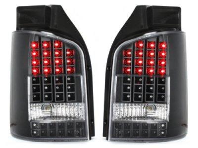 Задние фонари Full LED Black на Volkswagen Multivan / Caravelle T5