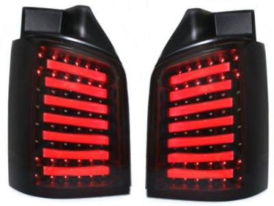 Задние фонари LiTec Black Smoke на Volkswagen Multivan / Caravelle T5