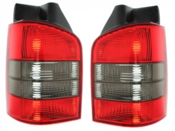 Задние фонари Red Smoke на Volkswagen Multivan / Caravelle T5