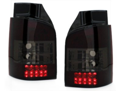 Задние фонари LED Black на Volkswagen Multivan / Caravelle T5