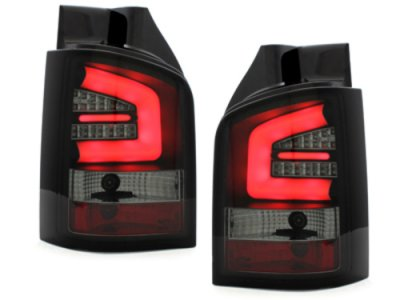 Задние фонари Neon Black Smoke на VW Multivan / Caravelle T5