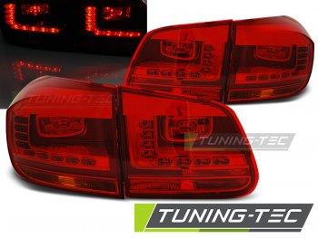 Задние фонари LedTech Red Crystal на VW Tiguan рестайл