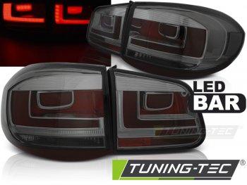 Задние фонари LedBar Smoke на VW Tiguan