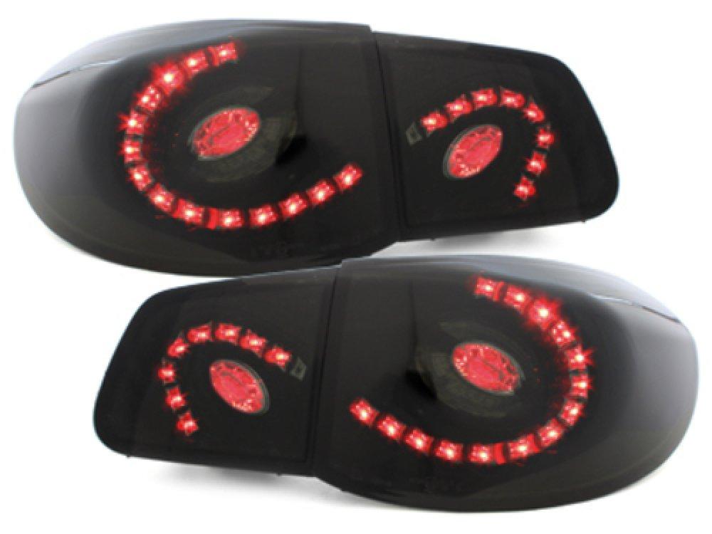Задние фонари LED Black на Volkswagen Tiguan