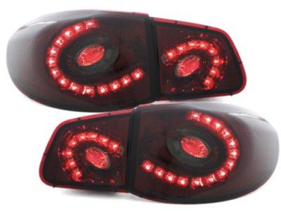 Задние фонари LED Red Smoke на Volkswagen Tiguan