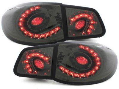 Задние фонари LED Smoke на Volkswagen Tiguan