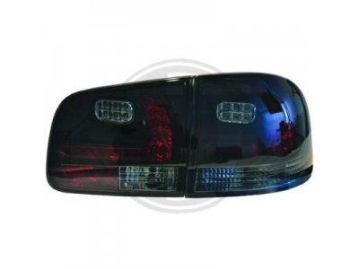 Задние фонари LED Black Smoke на Volkswagen Touareg I