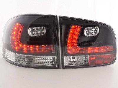 Задние фонари LED Black на Volkswagen Touareg I