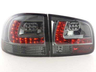 Задние фонари LED Smoke на Volkswagen Touareg I