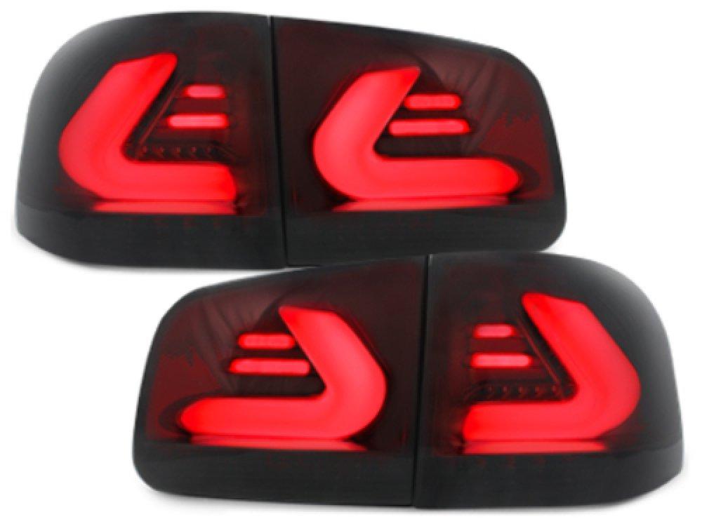Задние тюнинговые фонари CarDNA Black Smoke на Volkswagen Touareg