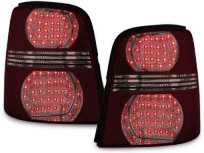Задние фонари LED Red Smoke на Volkswagen Touran 1T / GP