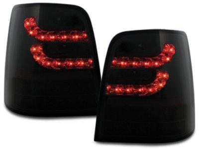 Задние фонари Litec LED Black Smoke на VW Touran 1T / GP