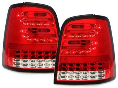 Задние фонари Litec LED Red Crystal на VW Touran 1T / GP