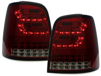 Задние фонари Litec LED Red Smoke на VW Touran 1T / GP