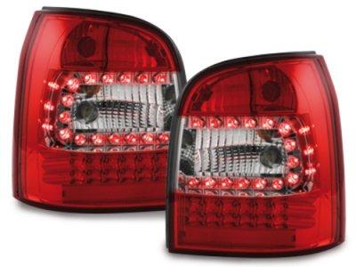 Задние фонари LED Red Crystal на Audi A4 B5 Avant