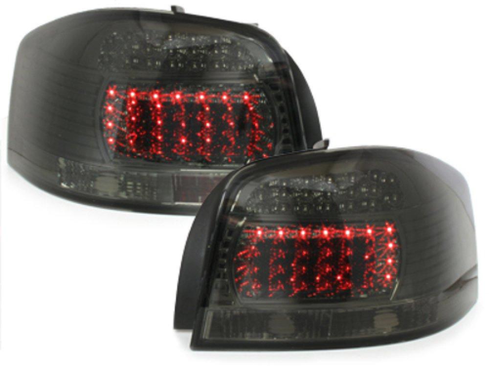 Задние светодиодные фонари LED Black на Audi A3 8P 3D