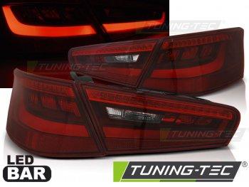 Задние фонари LED Red Crystal на Audi A3 8V 3D