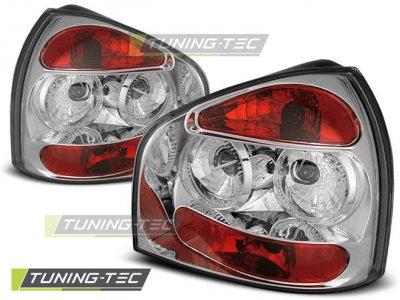 Задние фонари Chrome на Audi A3 8L