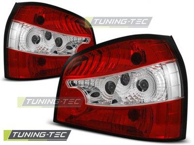 Задние фонари Red Crystal на Audi A3 8L