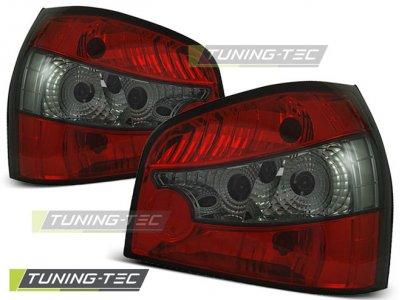 Задние фонари Red Smoke на Audi A3 8L