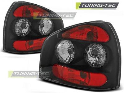 Задние фонари Black на Audi A3 8L