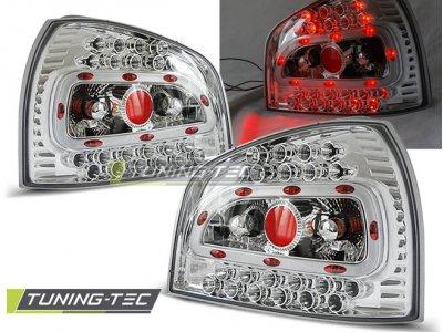 Задние фонари LED Chrome Var2 на Audi A3 8L