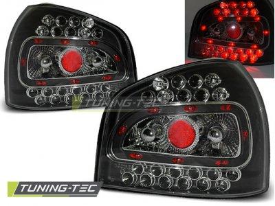 Задние фонари LED Black на Audi A3 8L