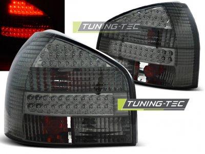 Задние фонари LED Smoke Var2 на Audi A3 8L