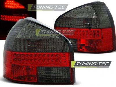 Задние фонари LED Red Smoke Var2 на Audi A3 8L